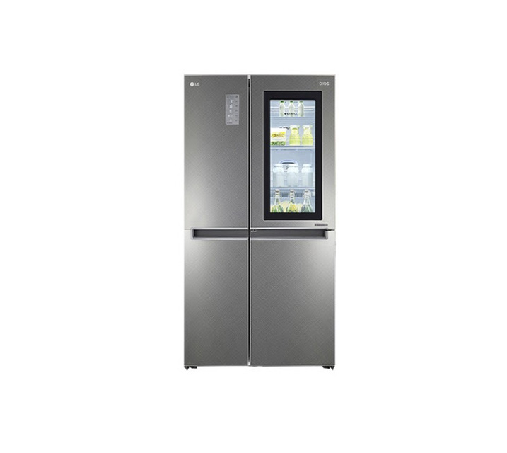 [L] LG 노크온 매직스페이스 냉장고 820L (2도어) S831SN75 / 월 47,900원