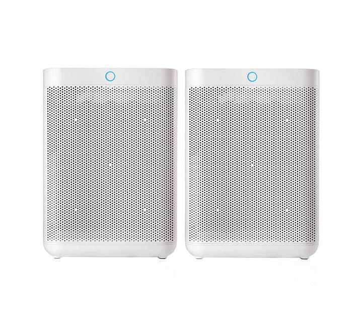 [G_렌탈] 현대큐밍 더케어 큐브 공기청정기 세트 HQ-A19100W + HQ-A19100W SET / 월28,900원