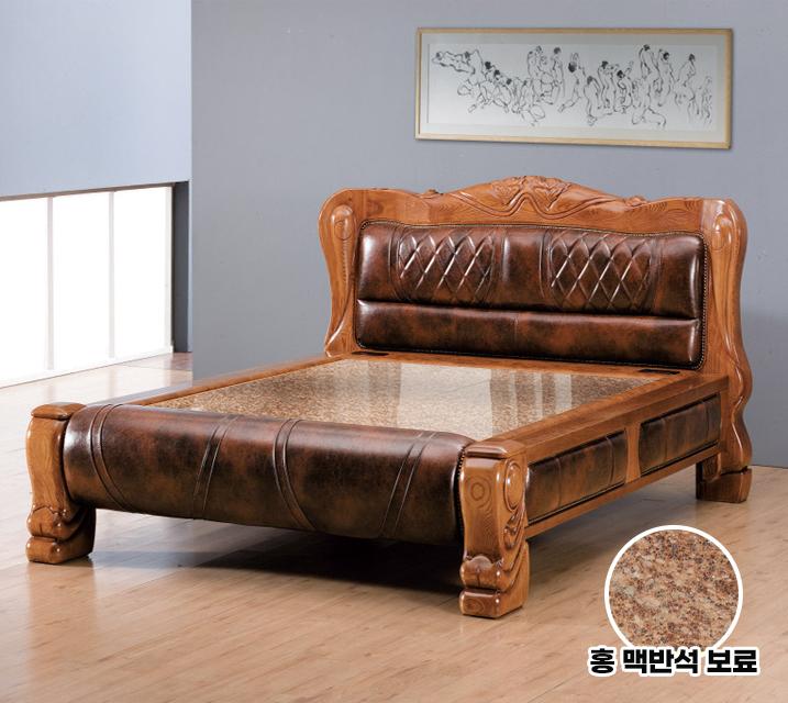 미르 Q 돌 흙침대 (홍백반석보료) / 월59,800원