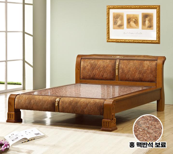 아란 Q 돌 흙침대 (홍맥반석 보료) / 월 45,800원
