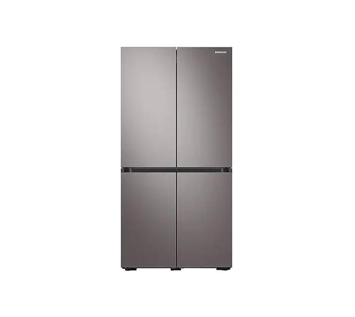 [L_렌탈] 삼성 냉장고 4도어 비스포크 양문형 브라우니 실버 871L RF85T9013T1 / 월58,700원