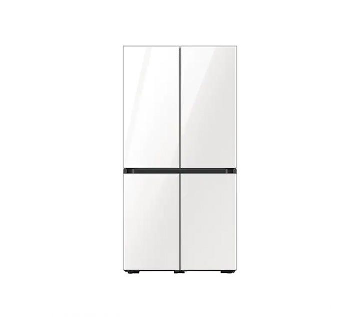 [L_렌탈] 삼성 냉장고 4도어 비스포크 양문형 871L 글램화이트 RF85T901335 / 월 58,700원
