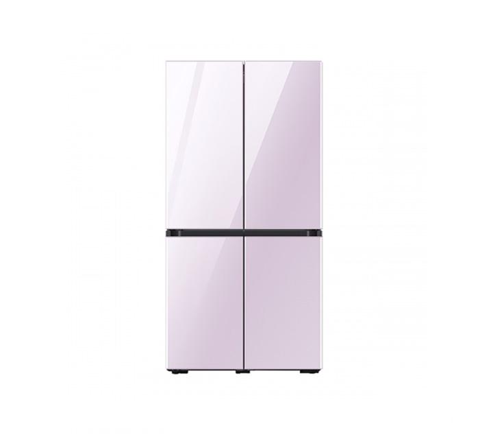 [L_렌탈] 삼성 냉장고 4도어 비스포크 양문형 871L 글램라벤더 RF85T901338 / 월 58,700원