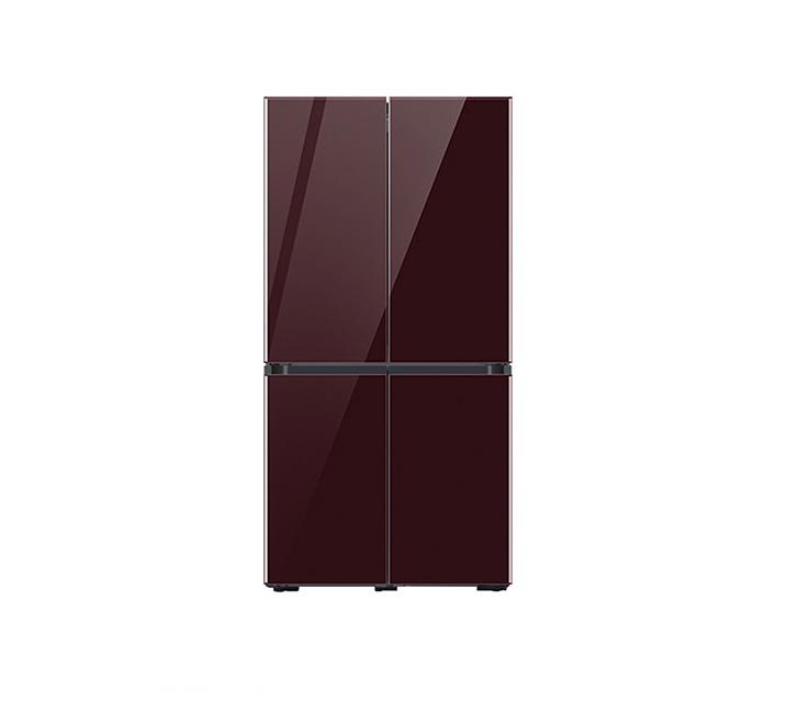 [L_렌탈] 삼성 냉장고 4도어 비스포크 양문형 871L 글램버건디 RF85T901343 / 월 58,700원