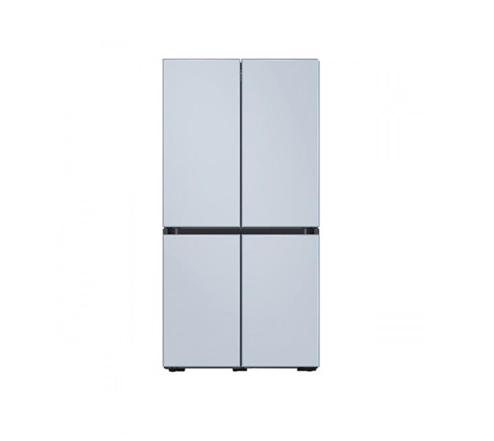 [L_렌탈] 삼성 냉장고 4도어 비스포크 양문형 871L 새틴스카이블루 RF85T901348 / 월 58,700원