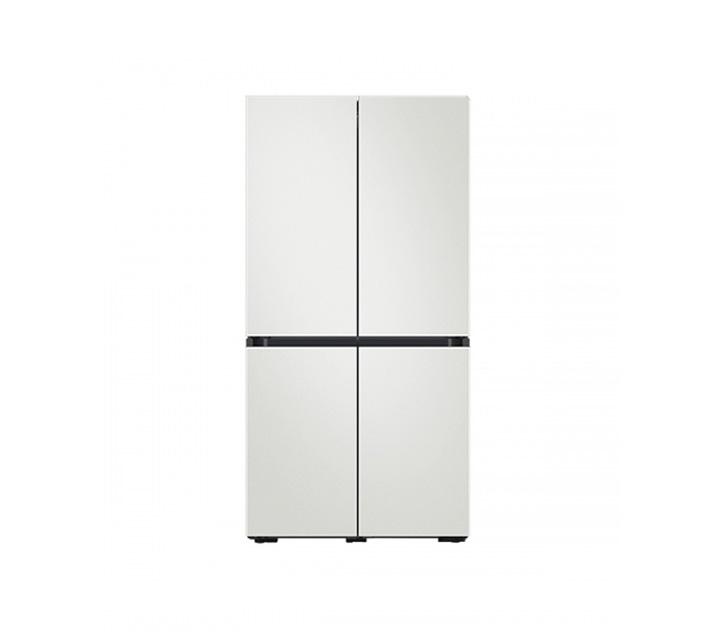 [L] 삼성 냉장고 4도어 비스포크 양문형 871L 코타화이트 RF85T901301 / 월 58,700원