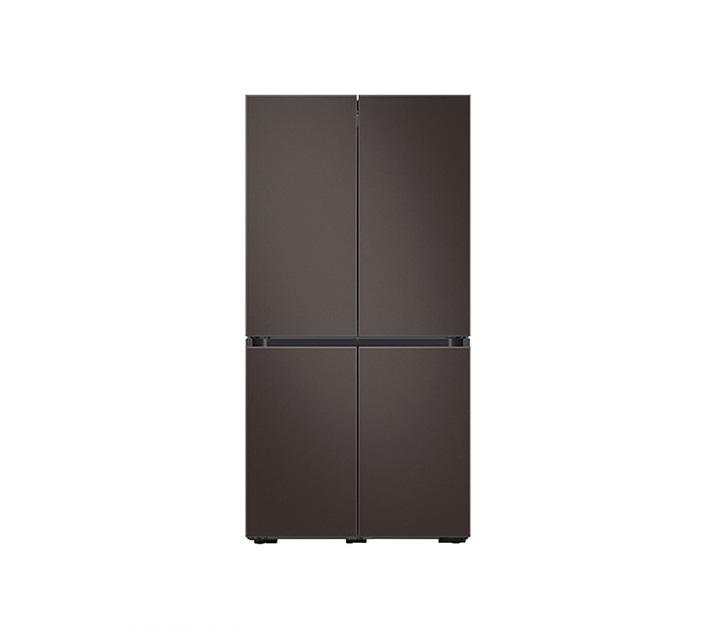 [L] 삼성 냉장고 4도어 비스포크 양문형 871L 코타차콜 RF85T901305 / 월 58,700원