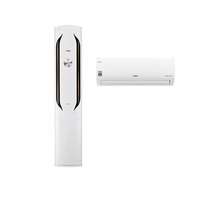 [L_렌탈] LG  에어컨 휘센 스탠드형 20평 +7평 화이트 FQ20VAWWA2 / 월 64,900원