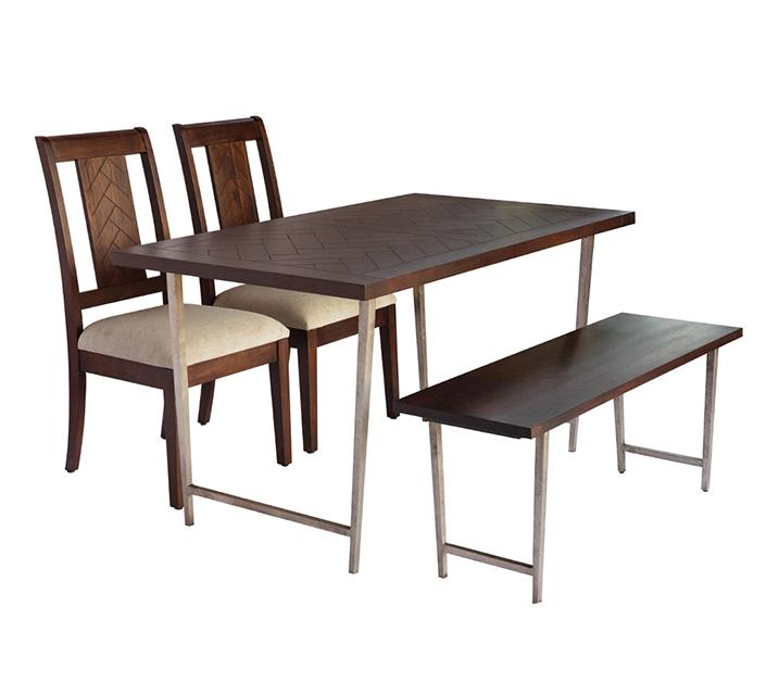 IVAU 바함 컬렉션 4인 엔틱 식탁 세트 [ 테이블 + 의자 4개 ] / 월 93,800원