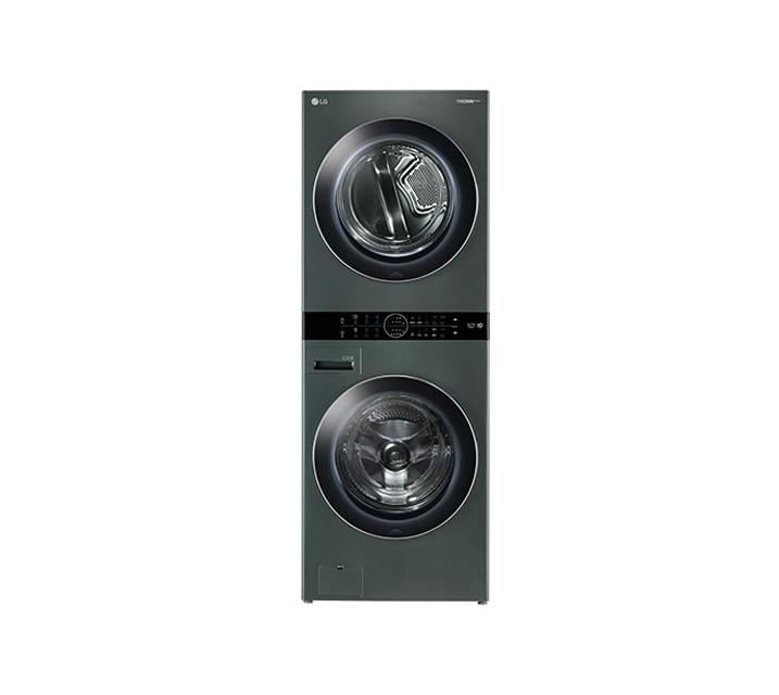 [L_렌탈] LG 워시타워 세탁기(21kg)+건조기(16kg) 그린 W16GS / 월113,000원
