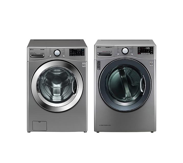 [L] LG 드럼세탁기 17Kg + 건조기 14Kg F17VDAP(PKG) / 월 69,900원