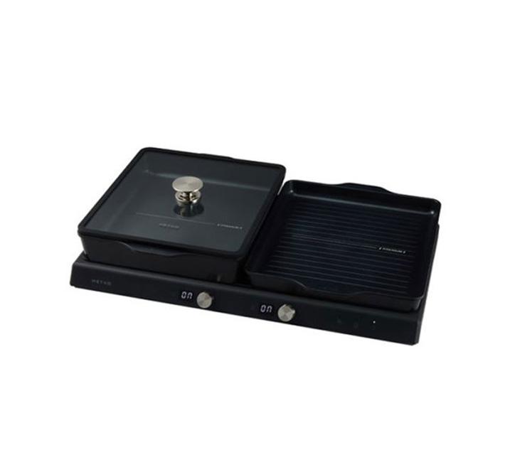 [L] 해피콜 전기그릴 2인용 블랙 MDER-U02IHA1BK / 월18,700원